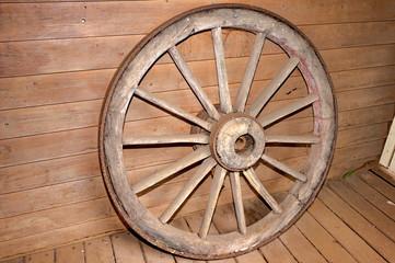 Steel Rimmed Wheel