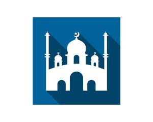 islam mosque islam muslim religion spirituality religious image vector icon