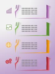 Modern infographics colorfull