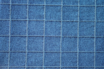 Texture background of a denim fabric