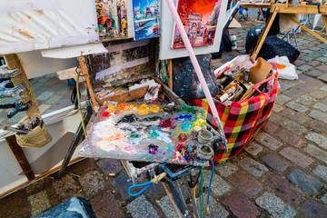 Montmartre artist painters place