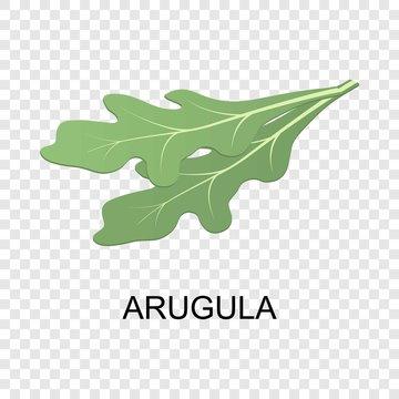 Arugula icon. Isometric of arugula vector icon for on transparent background