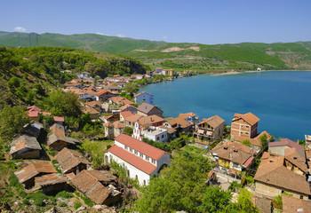 Albania, Korca, Lin, Lake Ohrid