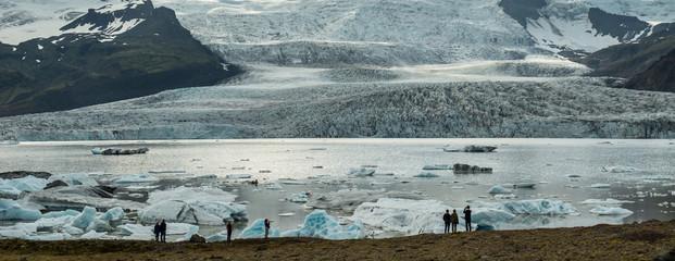 Fjallsarlon Glacier lagoon, south of Iceland