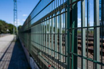A fence in Hamburg