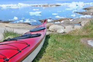 Poster Arctic Kayak in Greenland