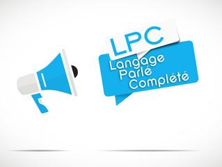 mégaphone : LPC
