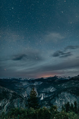Night photography in Yosemite National Park