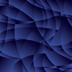 Concept geometric night blue background