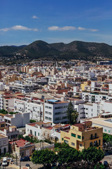 Landscape View of Ibiza Old Town
