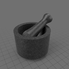 Mortar and pestle set