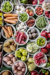 Fruit & Veg Market Stall