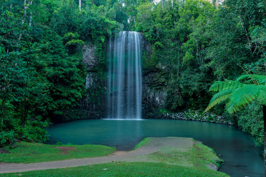 Far north tropical waterfall