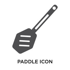 paddle icon on white background. Modern icons vector illustration. Trendy paddle icons