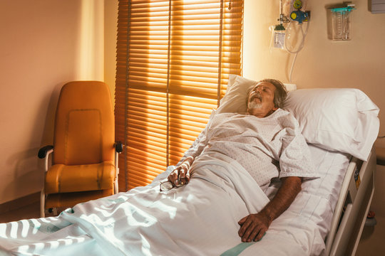 Adult patient in ward