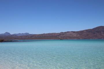 Loreto Bay Baja California Sur, Coronado blue sea