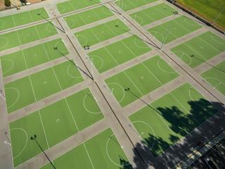 Aerial Hardcourt Sports Field