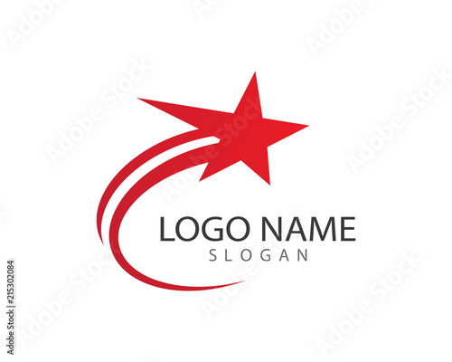 Shooting Star Symbol Illustration Stock Image And Royalty Free