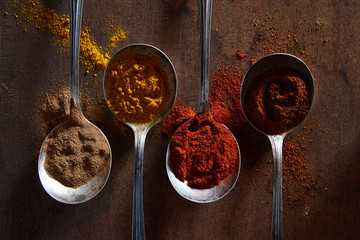 Spices Wall mural