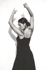 Portrait of a flamenco dancer