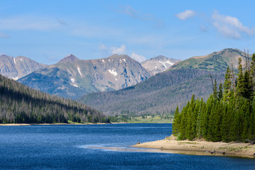 Scenic Beauty in the Rocky Mountains of Colorado