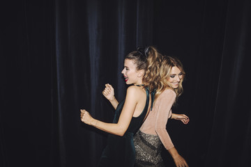 Women Dancing at Club