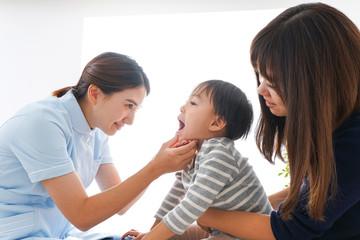 歯医者さんと子ども
