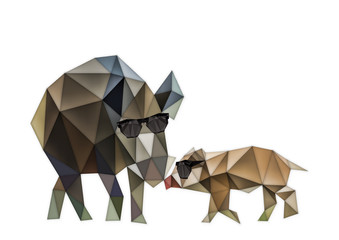 Abstract boar