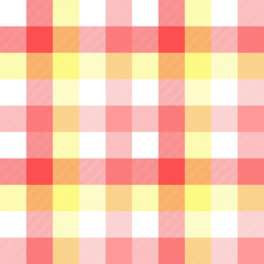 Pink baby color plaid seamless pattern