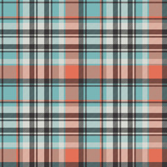 Abstract geometric fabric texture seamless pattern