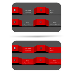 Modern ,2 style 3d business card , help your company,your enterprise illustrious,famous,popular and well-known
