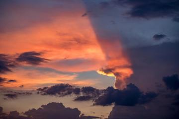 Lichtspiel der Wolken