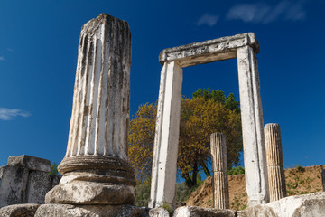 Ruins of the ancient sanctuary Lagina, Turkey
