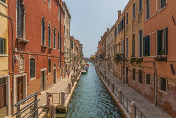 Venice, Italy - with its famous canals, Venice is one of the most amazing and popular destinations in Italy. Here in particular a view of the Old Town