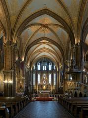 Matthias Church interior, Budapest