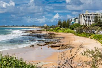 Mooloolaba, Queensland, Australia, 2016, March 17: Mooloolaba Beach.