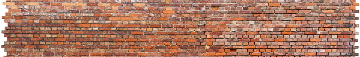 Strukturierte Backsteinmauer