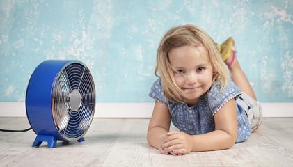 Abkühlung bei der Hitzewelle