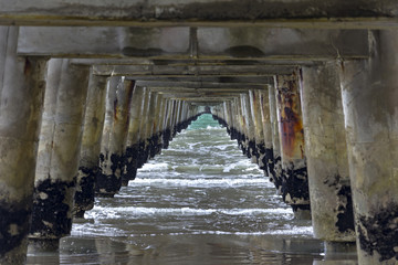 Tolaga Bay Wharf, Pacific Ocean, Gisborne, New Zealand