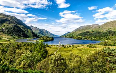 Loch Shiel - Glenfinnan, Scotland Fototapete