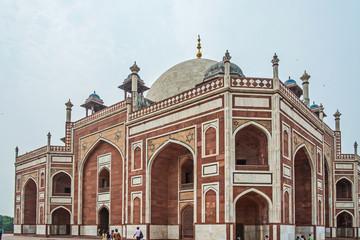 Foto auf Leinwand Delhi Indien- Delhi- Grabmal des Humayun