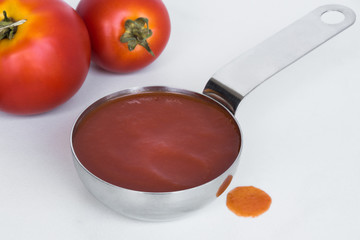A Quarter Cup of Tomato Sauce