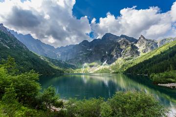 Gewitterwolken über dem Meerauge (Morskie Oko) – Hohe Tatra; Polen