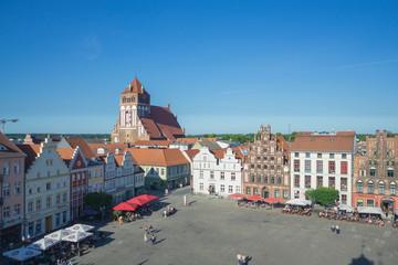 Greifswald Marktplatz Marienkirche