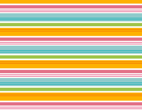 Beach stripe seamless pattern. Repeating stripe pattern for fabric, gift wrap, backgrounds, scrapbooking and more. Colorful summer beach stripe. Pink, blue, orange, green, white.