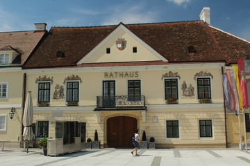 Old town hall in Laxenburg, Austria - historical building