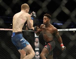 MMA: UFC Fight Night-Calgary-Dawodu vs Arnett