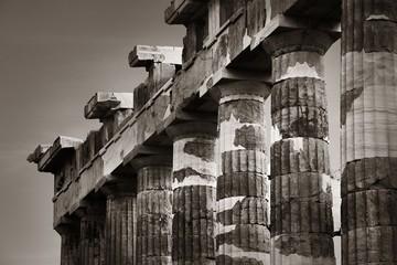 Wall Mural - Columns closeup