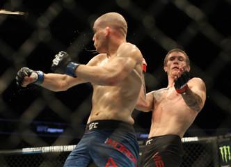 MMA: UFC Fight Night-Calgary-Mein vs Morono