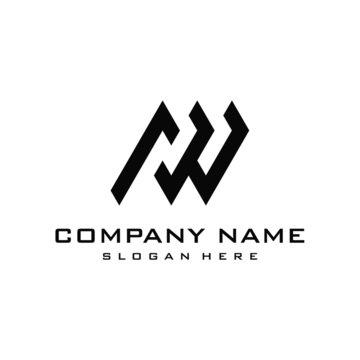 AW logo design